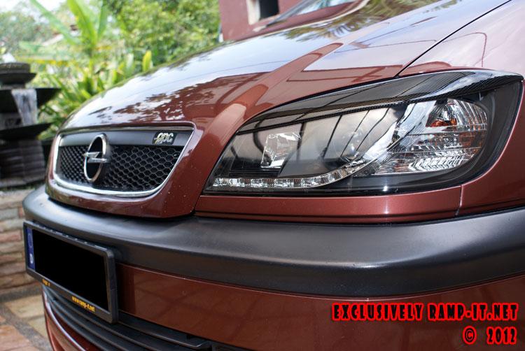 My Opel Zafira History